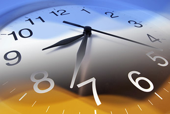 Don't forget to shift forward your clocks one hour to daylight time.