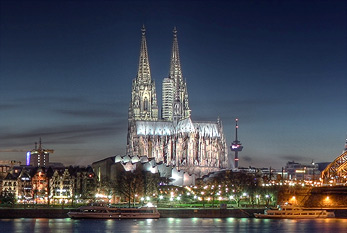 A German world heritage site: The Cologne Cathedral.