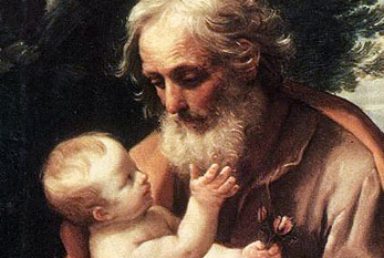 Saint Joseph with the Infant Jesus.