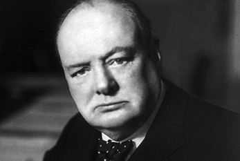 Sir Winston Churchill, Prime Minister of the United Kingdom
