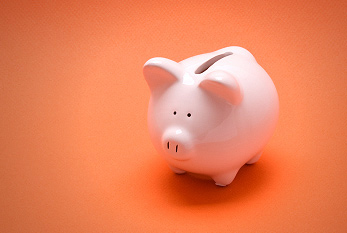 A piggy bank on World Savings Day