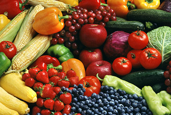 Fruits, vegetables and grains are the basis of the vegan diet