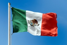 Flag Day in Mexico 2017